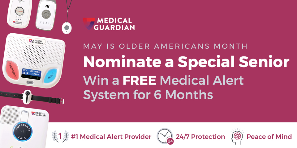 Nominate a Senior to Win a Free Medical Alert System!