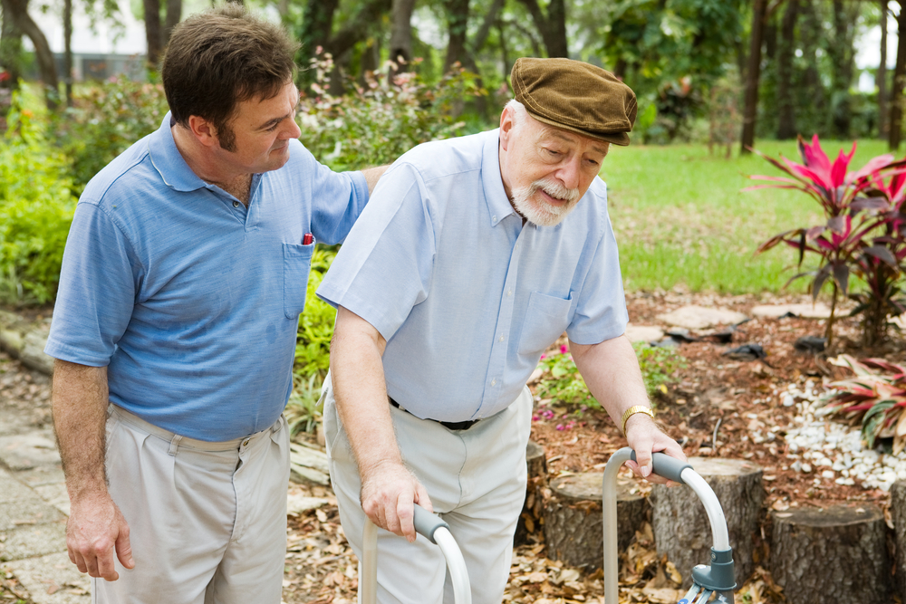 A Recent Rise in Male Caregivers