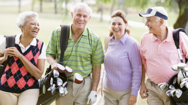 4 Health Benefits for Senior Golfers