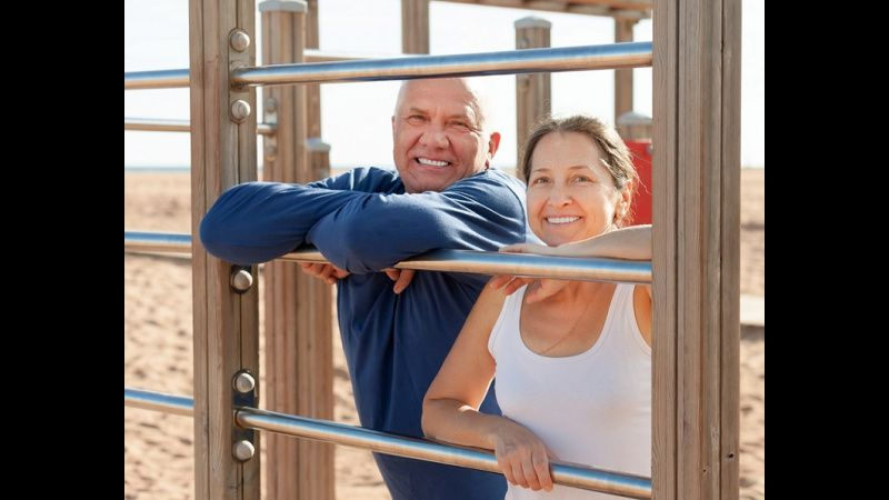 New Fitness Trend: Playgrounds for Seniors