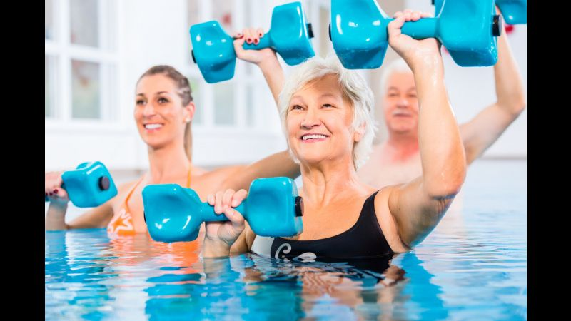 Dive Into Pool Exercises