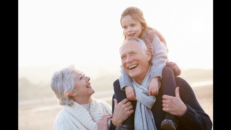 Doctor's Orders: Spend More Time With Your Grandkids