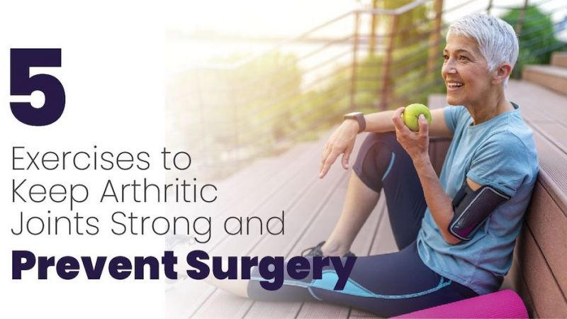 Exercises to Help Arthritic Joints