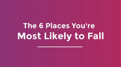 The Most Common Places You're Most Likely to Fall Around the Home