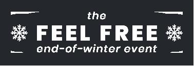 The FEEL FREE Winter Sale